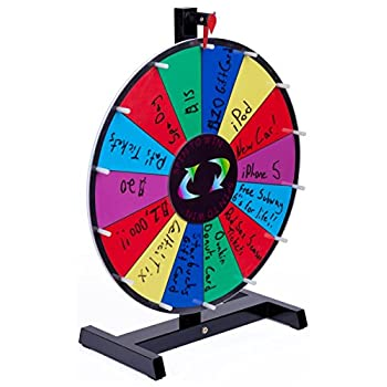 Image of Displays2go Promotional Prize Wheel Casino Prize Wheels