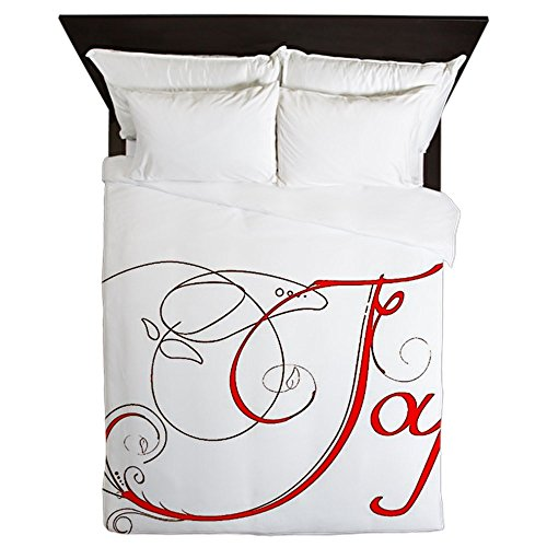 CafePress - Joy! - Queen Duvet Cover, Printed Comforter Cover, Unique Bedding, Microfiber by CafePress