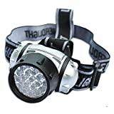 Bazaar 19-LED Headlight 19 LEDs Bulb 4-Mode Headlamp Flashlight Torch Lamp