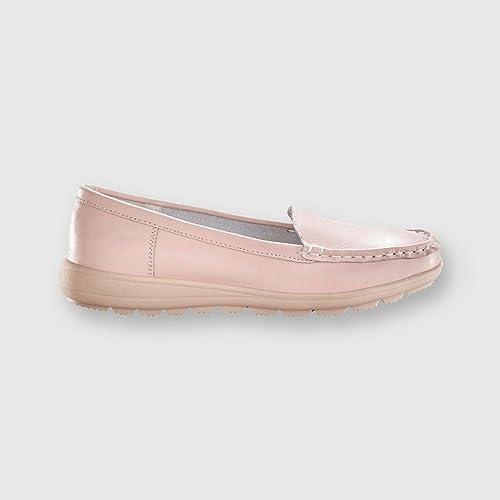 BLANCHEPORTE - Mocasines Mujer, Rosa (Rose), 37: Amazon.es: Zapatos y complementos