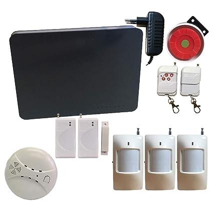 Sistema de alarma inalámbrica GSM Home Burglar, sistema de ...