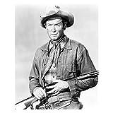 #9: Jimmy Stewart Dressed as Cowboy Holding Rifle 8 x 10 Inch Photo