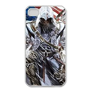 iphone4 4s phone cases White Assassins Creed cell phone cases Beautiful gifts YWLS0466522