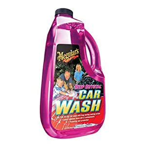 Meguiar's G10401 Deep Crystal Car Wash, 128 oz.