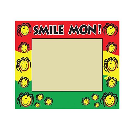Picture Frames Smile Mon Rasta Fun 3-D Imagery Design Photo Frames Holds 4