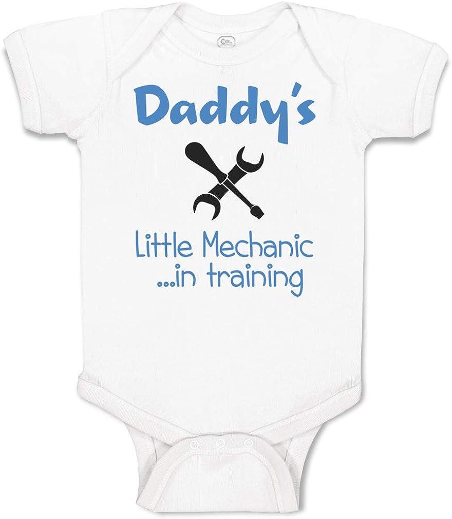 Baby body custom bodysuit birth gift idea baby clothes mechanic like dad mechanic like dad share body car