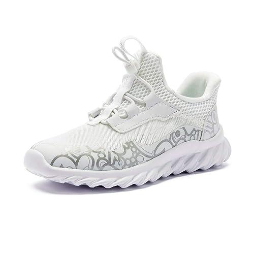 8b22098283126 ABC KIDS Boys Girls Running Shoes Comfortable Fashion Light-Weight Slip on  Cushion
