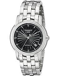 Tissot Mens T97148351 T-Classic Black Dial Watch