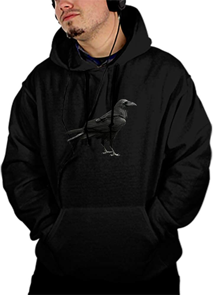 Bird Print Spring Unisex Hoody Thick Sweet Pullovers