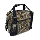 Polar Bear Coolers Nylon Line – Quality Like No Other From the Brand You Can Trust – See Touch & FEEL the Polar Bear Difference – Patent Pending – 48 Pack Mossy Oak Duck Blind Camo