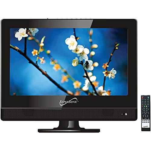 Supersonic SC-1311 13.3 LED TV electronic consumer by Supersonic