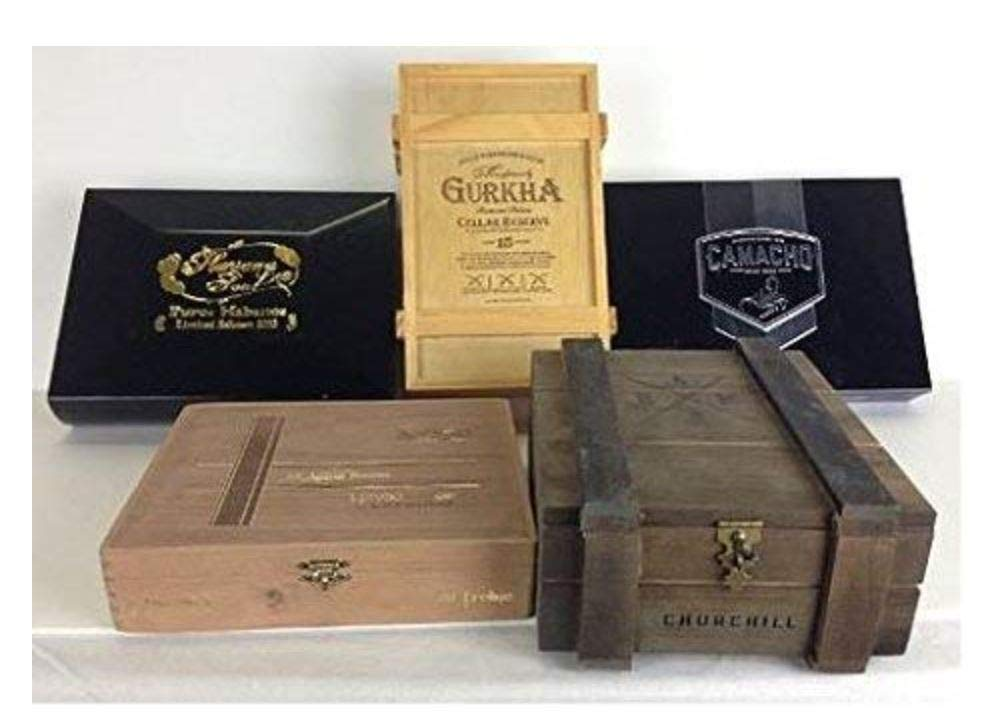 "Darice 9180-06 Unfinished Cigar Box 8.375/""x8.125/""x1.75/"""