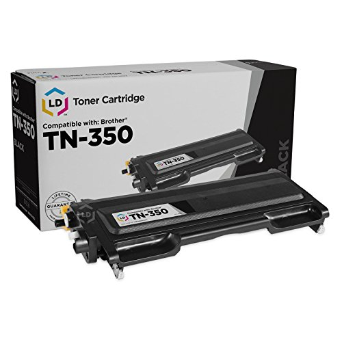 LD Compatible Toner Cartridge Replacement for Brother TN350 (Black) (Brother Toner 2820)