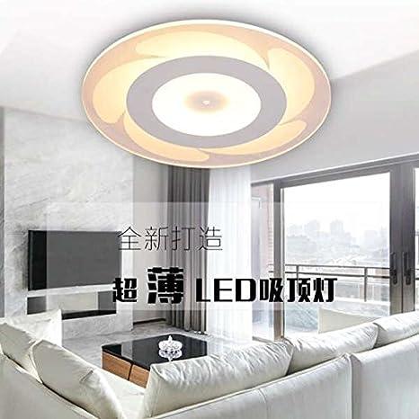 WaaiSo Luz De Techo Led Creativas Ultra-Fino Salón Dormitorio ...