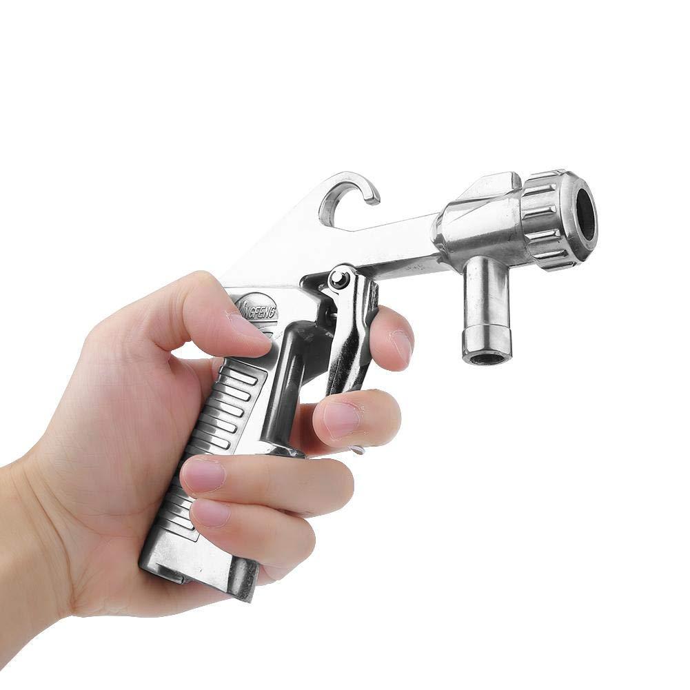 Pistola de arenado neum/ática con Abrasivo cer/ámica 4pcs