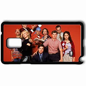 Personalized Samsung Note 4 Cell phone Case/Cover Skin Arrested Development Black WANGJING JINDA