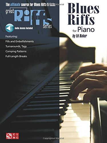 Blues Riffs for Piano [Baker, Ed] (Tapa Blanda)