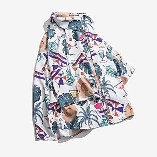 アロハシャツ 花柄シャツ ハワイ風 メンズ レディース 半袖 開襟 ラペル UV対策 通気速乾 軽量 カジュアル 薄手 ゆったり 旅行 リゾート ビーチ 海水浴 男女兼用 プリント柄 夏服 全3色 S-XL