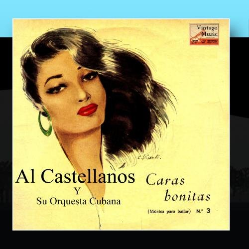 Al Castellanos Y Su Orquesta Cubana Vintage Cuba Nº 60 Eps