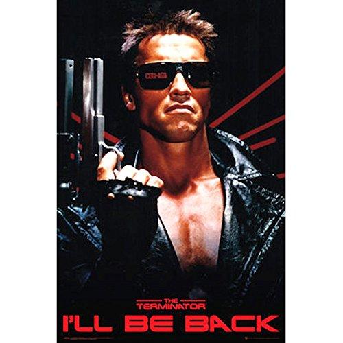 Terminator - Movie Sheet 24x36 Standard Wall Art Poster