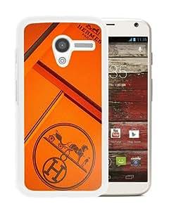 Newest Motorola Moto X Case ,Hermes 46 White Motorola Moto X Cover Case Fashionable And Popular Designed Case Good Quality Phone Case