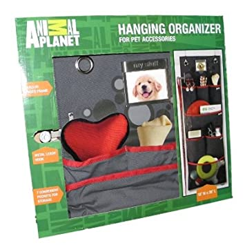 Amazon Animal Planet Hanging Pet Organizer With Picture Frame