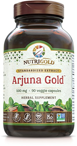 NutriGold Arjuna Gold, 500 mg, 90 Veggie Capsules For Sale