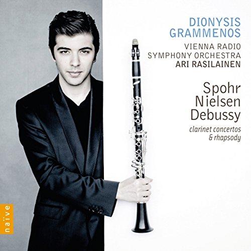 Spohr, Nielsen & Debussy: Clarinet Concertos & Rhapsody