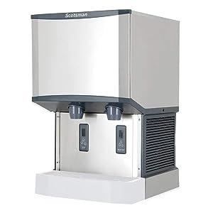 Scotsman HID540A-1 Meridian Countertop Air Cooled Ice Machine and Water Dispenser - 40 lb. Bin Stora