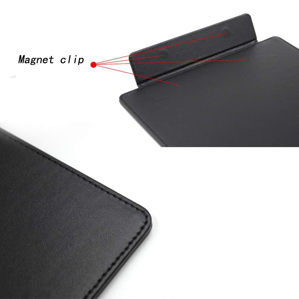 Amazon.com: Carpeta de piel sintética para negocios, cartera ...