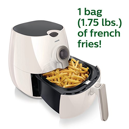 Philips Airfryer, The Original Airfryer, Fry Healthy with 75% Less Fat White HD9220/56 by Philips Kitchen (Image #1)