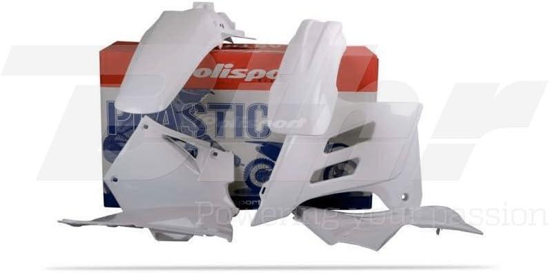 POLISPORT - 48020 : Kit Plástica Gas Gas Blanco