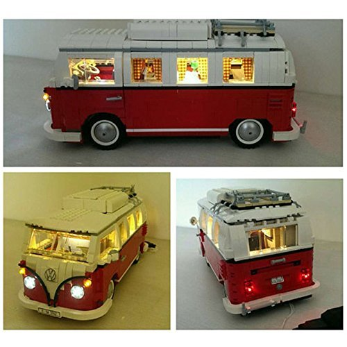 Lighting Led Kit for Lego 10220 Volkswagen T1 Camper Van