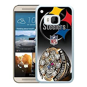 Pittsburgh Steelers White HTC ONE M9 Case Sale Online