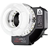 PIXAPRO® RIKO400 400Ws WISTRO AR400 Universal Portable RING FLASH Super bright Continuous LED Light *2 Year UK Warranty *Fast Delivery *UK Stock *VAT Registered