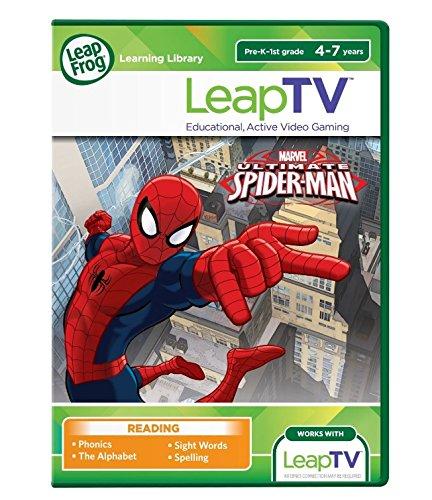 LeapFrog LeapTV Ultimate Spider-Man Educational, Active Vide
