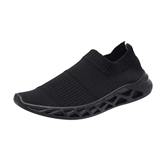 40fa46996a65 DENER❤ Men Casual Walking Slip on Sneakers,Designer Lightweight Wide Width  Comfortable Running