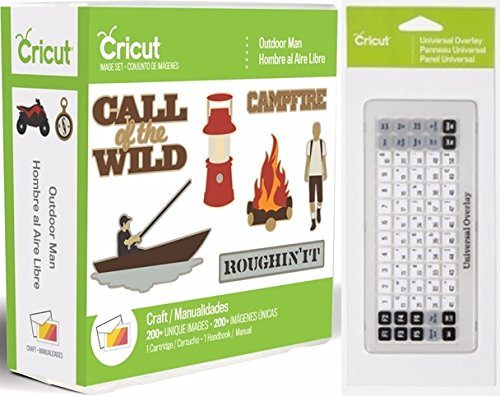 Cricut Outdoor Man Cartridge + Universal Keypad Overlay by Cricut