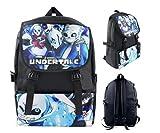 Cartoon Anime Undertale Cosplay School Bag Computer Backpack for Teens