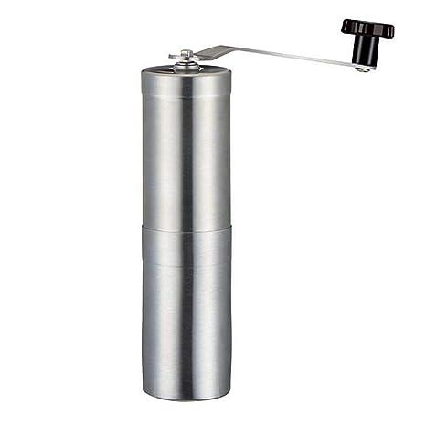 Máquina de café manual de acero inoxidable Uso de la mano Granos de café Molino de