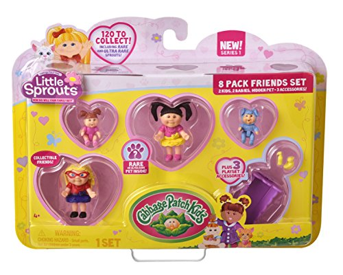 Cabbage Patch Kids Little Sprouts Friends Set (8 (Little Sprout Collection)
