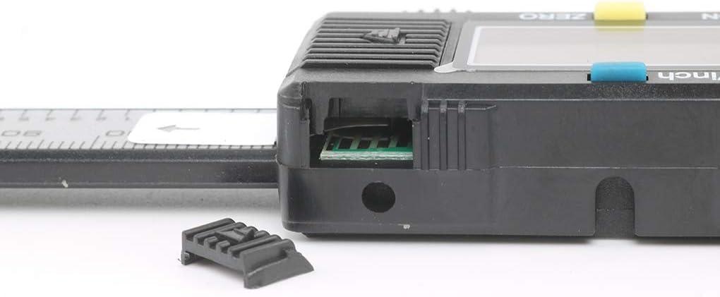 rongweiwang Digital Caliper pl/ástico Dispositivo de medici/ón Digital Vernier Vernier de pl/ástico Calibre Calibre