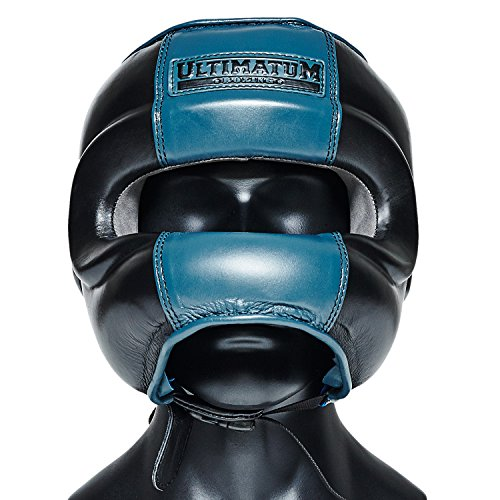 Ultimatum Boxing Gen3FaceBar Professional Facebar Headgear Premium Boxing Face Mask for Men | Sparring Boxing Helmet Head Guard