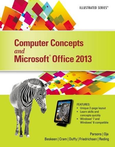 Computer Concepts and Microsoft Office 2013: Illustrated by Brand: Cengage Learning