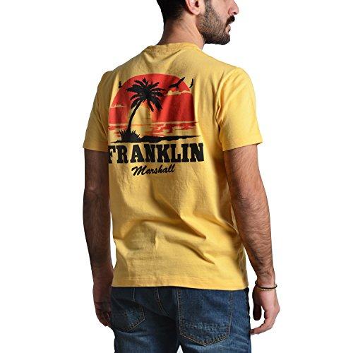 Franklin & Marshall Herren T-Shirt gelb gold