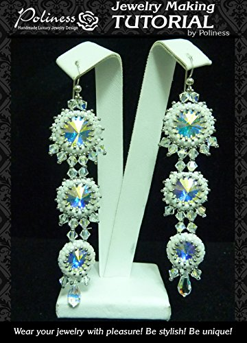 DIY Jewelry making Tutorial Wedding Earrings, Practical Step by step Guide on How to make Handmade Beaded Earrings with Swarovski crystals and ()