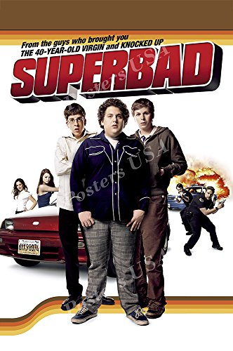 (Posters USA - Super Bad Movie Poster GLOSSY FINISH - MOV951 (24
