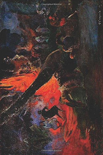 """Fire Dance"" by Paul Gauguin - 1891: Journal (Blank / Lined) (Art of Life Journals) PDF"
