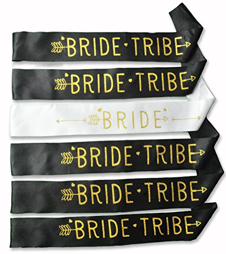 Bride Tribe Sash Bachelorette Party Favors Bridal Shower Gifts or - Suit Will Sunglasses Me