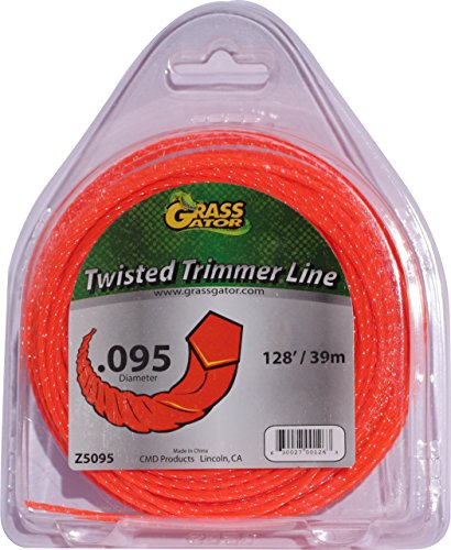 Grass Gator Z5095 Zip String Trimmer Line Pro Small Donut 128-Feet x .095 -